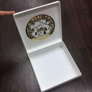 Valmont 專櫃 化妝盒 硬皮紙盒