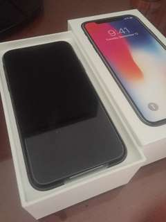 BNIB iPhone x 64gb