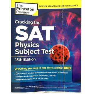 Princeton Review Physics SAT