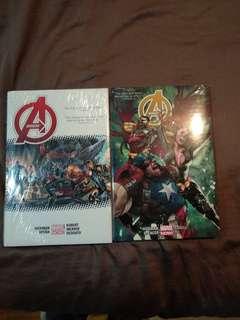 Avengers 1&2 deluxe Hardcover