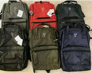 Authentic anello waterproof backpack.  Size large 17×13 inches. Grab yours now!