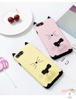 iPhone 7/ 8 Plus Cat Ring Soft TPU Silicon Case Cover