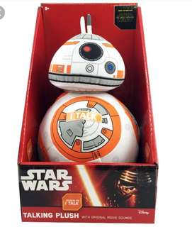 "Star Wars BB-8 Talking Plush Toy 9"""