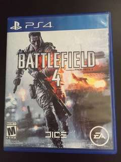 PS4 Battlefield 4 (Used)