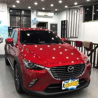 Mazda Cx3 2.0汽油頂級版 I-key 2016年底車 車庫車