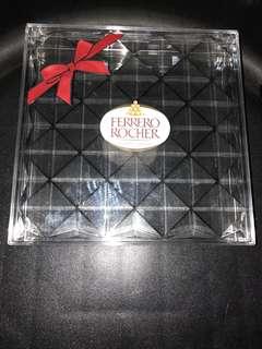 Ferrero Rocher Diamond-cut acrylic gift box