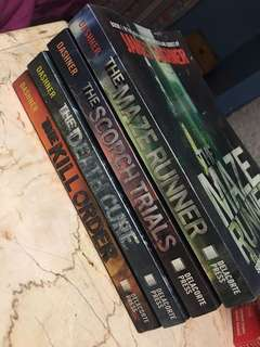 Maze runner series (2nd hand)