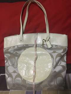 REPRICED!! Authentic and Like New COACH Large Tote Bag