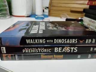 Dinosaur documentary 3 pcs