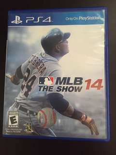 PS4 MLB The Show 14 (Used)