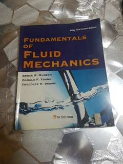 Fundamentals Of Fluid Mechanics 5th Edition