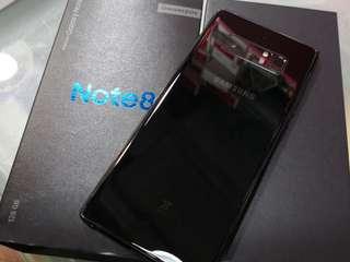 中古二手 samsung Note 8 Black 黑色