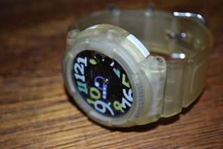 Baby G-Shock transparent Watch