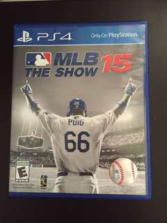 PS4 MLB The Show 15 (Used)