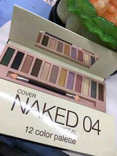 NAKED 04 COVER EYESHADOW PALETTE
