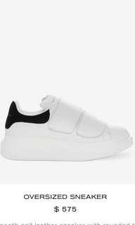 Alexander McQueen Oversized Sneaker Velcro