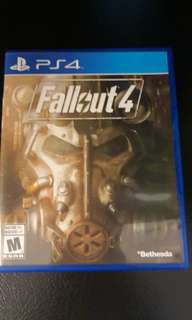 Fallout 4 PS4 destiny ps4 and watch dog 2 ps4