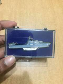 Singapore navy collectable pin