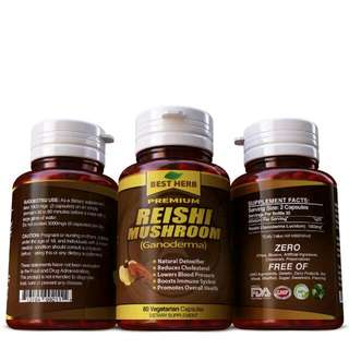 ♡《IN STOCK FREE POSTAGE》 PREMIUM LING ZHI ♡ REISHI ♡ GANODEMA ♡ 100%  NATURAL DETOXIFIER ♡ REDUCE CHOLESTEROL ♡ LOWER BLOOD PRESSURE ♡ EXCELLENT IMMUNE BOOSTER ♡ UNISEX♡ ELDERLY KIDS GREAT ♡ HELS OVERALL HEALTH♡ FIGHT CANCER