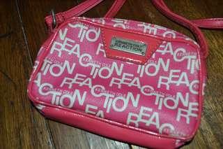 Kenneth Cole Reaction Pink Sling Bag