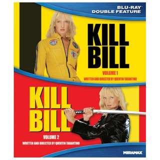 🆕Kill Bill Vol 1 & 2 Blu-ray