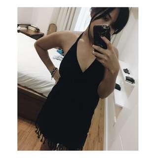 Women's Black Beach Dress