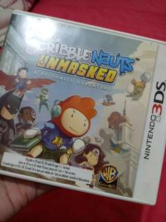 Scribblenauts unmasked for sale (rush)
