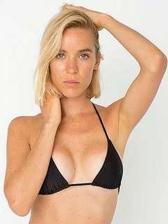 The Miami String Bikini Top by American Apparel