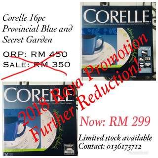 16 pcs Dinner Set Corelle for sale
