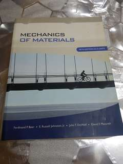 Mechanics Of Materials 5th Edition