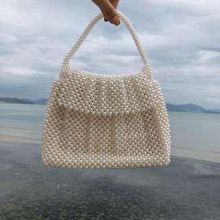 Handmade Mother of Pearls Bag