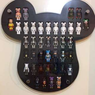 Be@rbricks Showcase (CUSTOM MADE ONLY 1PC)