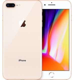 iPhone 8 Plus 64GB Gold 仲有10個月保養