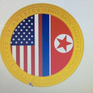 US North Korea Summit 2nd series LTD 5000pcs gold medallion