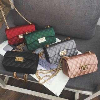 Jelly mini sling bags