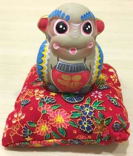 Monkey and pillow doll from Beijing