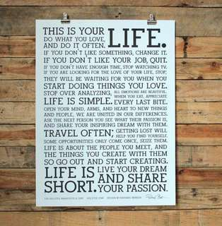 Poster: This is your LIFE