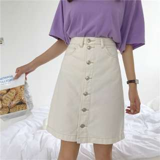 Women Button up Skirts 2