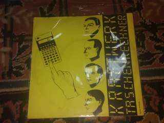 "Kraftwerk Pocket Calculator 7"" Vinyl Single"