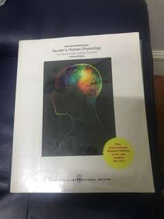 Vander's Human Physiology The Mechanisms of Body Function 13th edition Widmaier/Raff/Strang