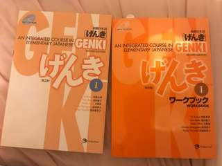 Genki: An Integrated Course in Elementary Japanese (Textbook and Workbook)
