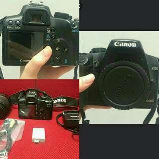 Canon1000D (dijual cepat)