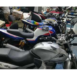 CB400 and CBX250 for rent