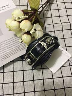 Authentic Balenciaga Leather bracelet