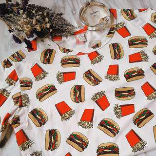 Burger & Fries T-shirt