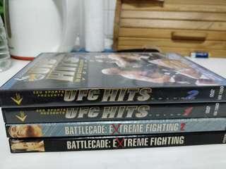 Wrestling DVD assorted 4 pcs
