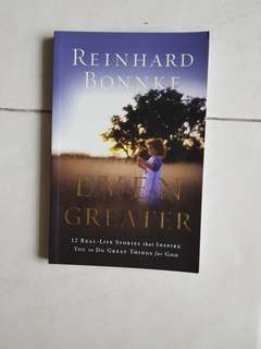 "Christian stories ""Even Greater"" by Reinhard Bonnke"