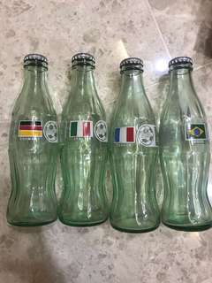 Coca Cola World Cup bottles for sale