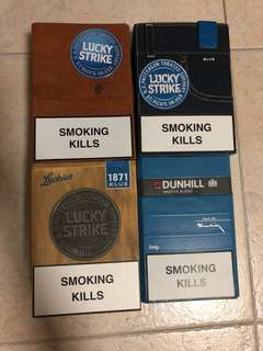 Collectors Cigarette Box
