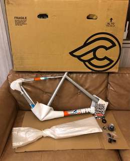 Brand new size M Cinelli Experience road bike frameset